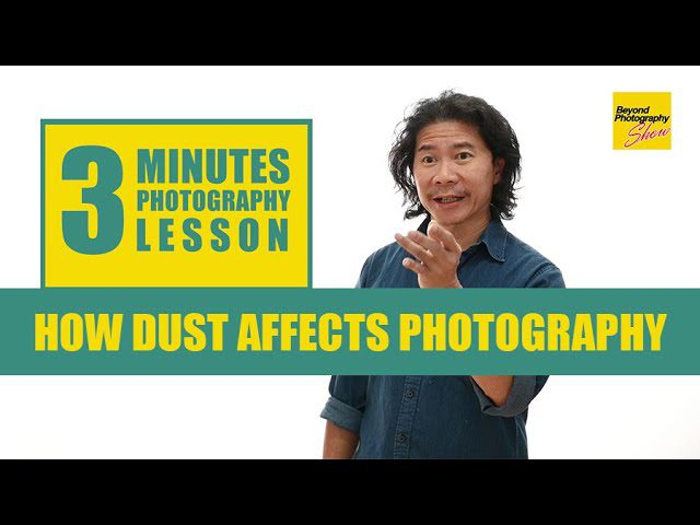 How Dust Affects Photography - youtube